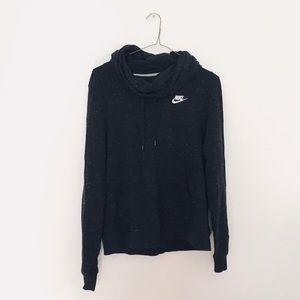 Speckled Nike Cowl-neck Hoodie